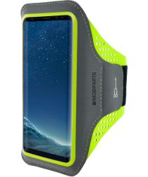 Mobiparts Comfort Fit Sport Armband Samsung Galaxy S8 Groen