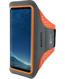 Mobiparts Comfort Fit Sport Armband Samsung Galaxy S8 Oranje