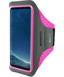 Mobiparts Comfort Fit Sport Armband Samsung Galaxy S8 Roze