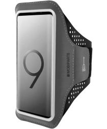 Mobiparts Comfort Fit Sport Armband Samsung Galaxy S9 Zwart