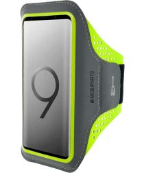 Mobiparts Comfort Fit Sport Armband Samsung Galaxy S9 Groen