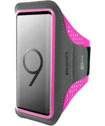 Mobiparts Comfort Fit Sport Armband Samsung Galaxy S9 Roze