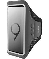 Mobiparts Comfort Fit Sport Armband Samsung Galaxy S9 Plus Zwart