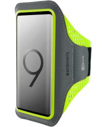 Mobiparts Comfort Fit Sport Armband Samsung Galaxy S9 Plus Groen
