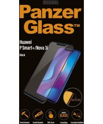 PanzerGlass Huawei P Smart Plus Case Friendly Screenprotector Zwart