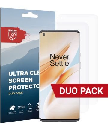 Rosso OnePlus 8 Pro Ultra Clear Screen Protector 2-Pack