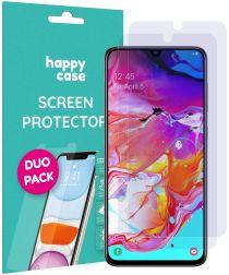 HappyCase Samsung Galaxy A70 Screen Protector Duo Pack