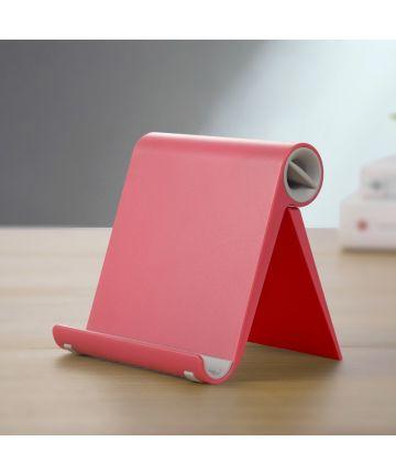 Universele Opvouwbare Smartphone standaard Rood