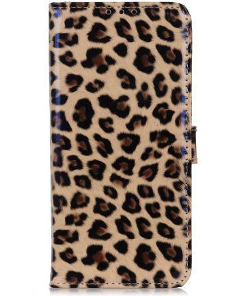 Samsung Galaxy M21 Hoesje Portemonnee met Luipaard Print