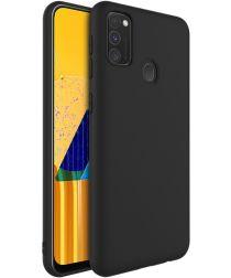 IMAK UC-1 Series Samsung Galaxy M21 Hoesje Matte TPU Zwart