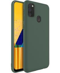 IMAK UC-1 Series Samsung Galaxy M21 Hoesje Matte TPU Groen