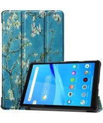 Lenovo Tab M8 Hoesje Tri-Fold Book Case met Flower Print