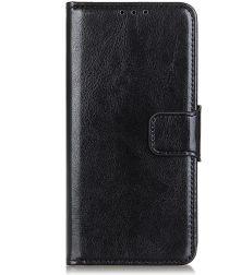 Motorola Moto G8 Power Hoesje Portemonnee Kunstleer Zwart