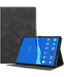 Lenovo Tab M10 Plus Hoesje Book Case Standaard Zwart
