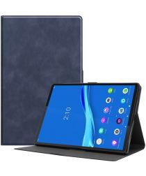 Lenovo Tab M10 Plus Hoesje Book Case Standaard Blauw