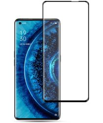 Oppo Find X2 (Pro) Tempered Glass 3D Screen Protector Zwart