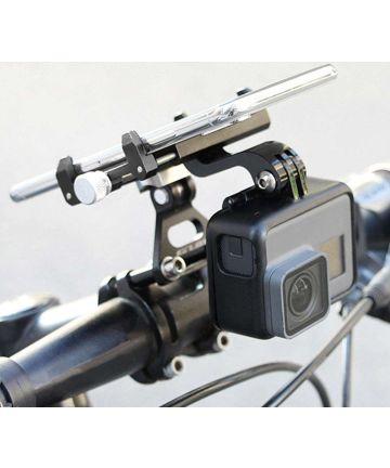 GUB G99 Universele Telefoonhouder Fiets Stuurpen met GoPro Mount Zwart