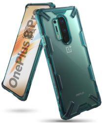 Ringke Fusion X OnePlus 8 Pro Hoesje Groen