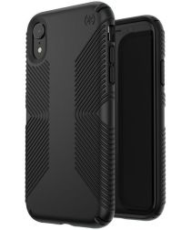 Speck Presidio Grip 2 Apple iPhone XR Hoesje Zwart Shockproof