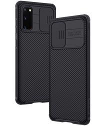 Nillkin CamShield Samsung Galaxy S20 Hoesje met Camera Slider Zwart
