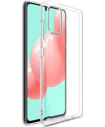 IMAK UX-5 Samsung Galaxy A41 Hoesje Flexibel en Dun TPU Transparant