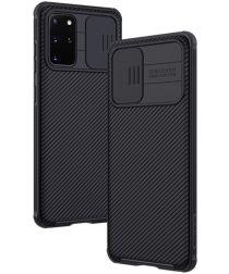 Nillkin CamShield Galaxy S20 Plus Hoesje met Camera Slider Zwart
