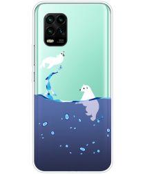 Xiaomi Mi 10 Lite Hoesje TPU met IJsbeer Print
