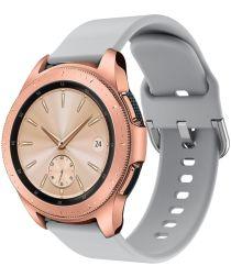 Universeel Smartwatch 20MM Bandje Siliconen met Gespsluiting Grijs