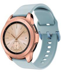 Universeel Smartwatch 20MM Bandje Siliconen met Gespsluiting Blauw