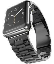 Apple Watch 40MM / 38MM Bandje Schakelband Roestvrij Staal Zwart