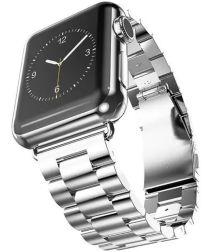 Apple Watch 40MM / 38MM Bandje Schakelband Roestvrij Staal Zilver