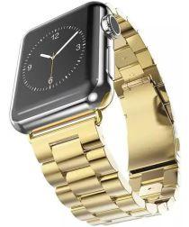 Apple Watch 40MM / 38MM Bandje Schakelband Roestvrij Staal Goud