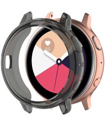 Samsung Galaxy Watch Active 2 40MM Hoesje Flexibel TPU Bumper Grijs