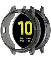 Samsung Galaxy Watch Active 2 44MM Hoesje Flexibel TPU Bumper Grijs