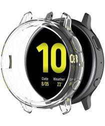 Samsung Galaxy Watch Active 2 44MM Hoesje Flexibel TPU Bumper Clear