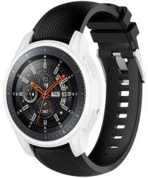 Samsung Galaxy Watch 46MM / Gear S3 Hoesje Flexibel Siliconen Wit