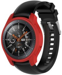 Samsung Galaxy Watch 46MM / Gear S3 Hoesje Flexibel Siliconen Rood