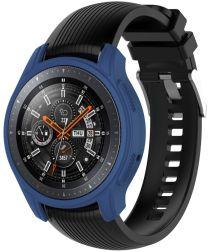 Samsung Galaxy Watch 46MM / Gear S3 Hoesje Flexibel Siliconen Blauw