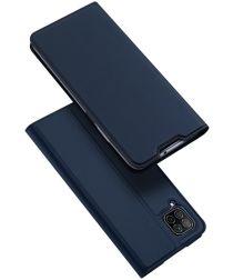 Dux Ducis Skin Pro Series Huawei P40 Lite Flip Hoesje Blauw