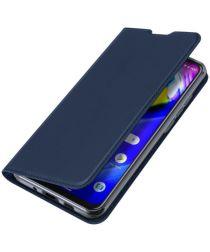 Dux Ducis Skin Pro Series Motorola Moto G8 Power Flip Hoesje Blauw