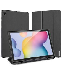 Dux Ducis Osom Series Galaxy Tab S6 Lite Hoesje Tri-fold Blauw