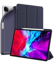 Dux Ducis Osom Apple iPad Pro 12.9 2018 / 2020 Hoesje Tri-fold Blauw