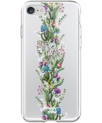 HappyCase Apple iPhone 8 Flexibel TPU Hoesje Floral Print