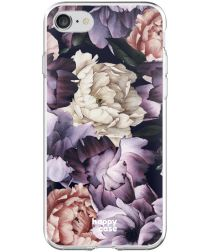 HappyCase Apple iPhone 8 Flexibel TPU Hoesje Flower Print