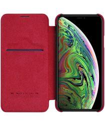 Nillkin Qin Book Apple iPhone 11 Pro Max Hoesje Rood