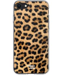 HappyCase Apple iPhone SE 2020 Hoesje Flexibel TPU Wilde Panter Print