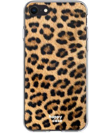 HappyCase Apple iPhone SE 2020 Hoesje Flexibel TPU Wilde Panter Print
