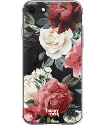 HappyCase Apple iPhone SE 2020 Hoesje Flexibel TPU Rozen Print