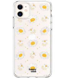 HappyCase Apple iPhone 11 Hoesje Flexibel TPU Bloemen Print
