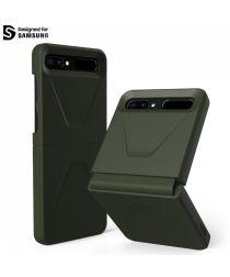 Urban Armor Gear Civilian Series Samsung Galaxy Z Flip Hoesje Groen